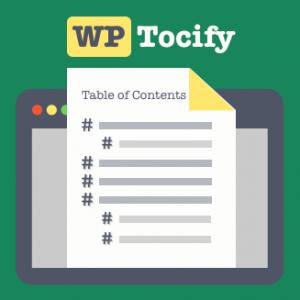 WP Tocify Pro