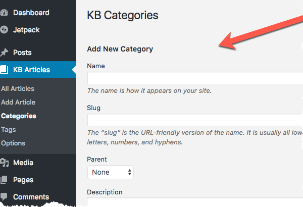 WooCommerce KB Articles - Categories