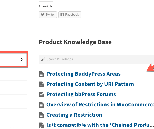WooCommerce KB Articles - Knowledge Base Product Tab in Storefront Theme