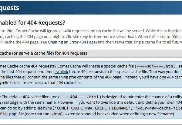 404 Requests