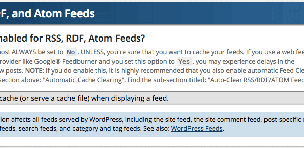RSS, RDF, and Atom Feeds