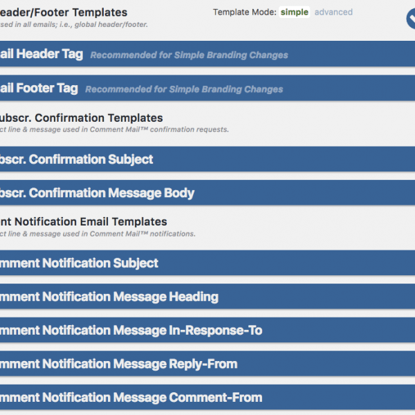 Email Header/Footer Templates