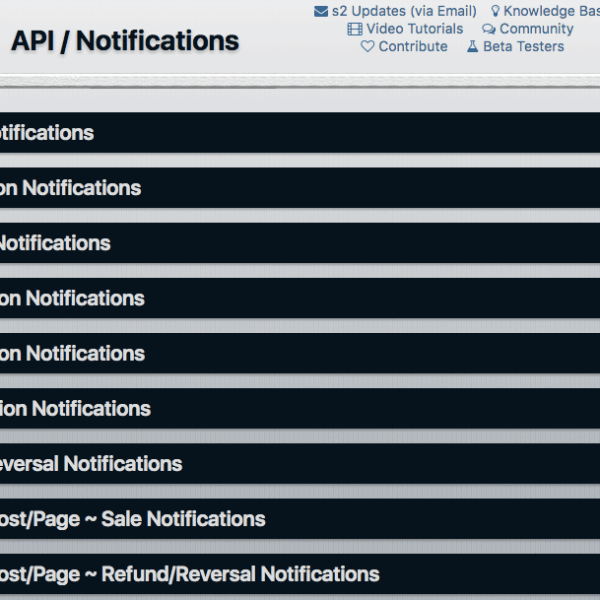 s2Member | API Notifications
