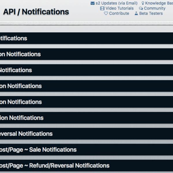 s2Member | API Notifications